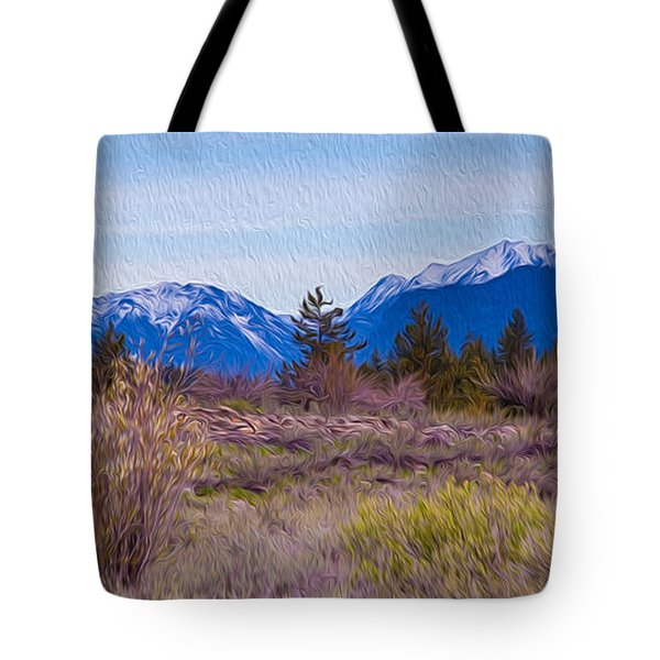 Mazama From Wolf Creek Tote Bag by Omaste Witkowski