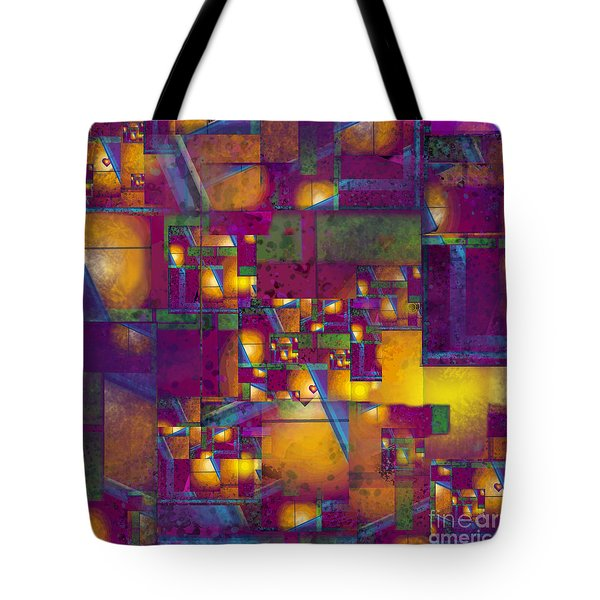 Maze Of The Heart Tote Bag by Carol Jacobs