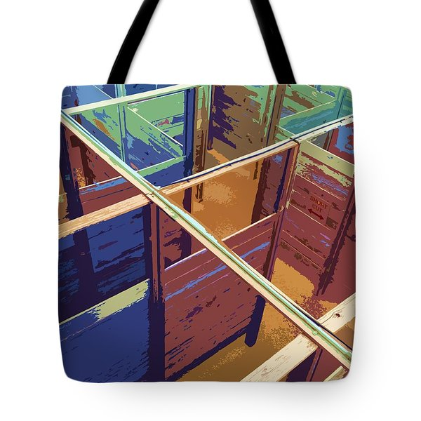 Labirinto Tote Bag by Julio Lopez