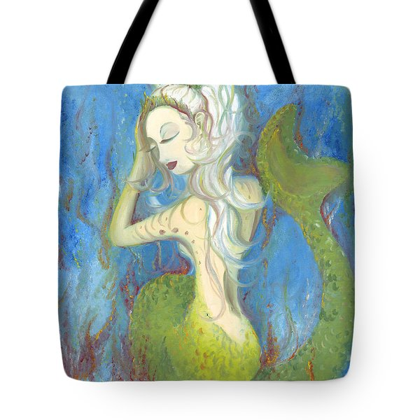 Mazzy The Mermaid Princess Tote Bag