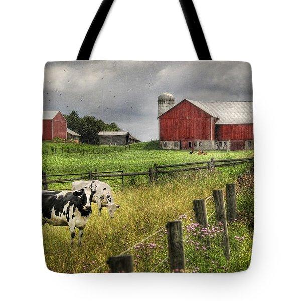 Mcclure Farm Tote Bag by Lori Deiter