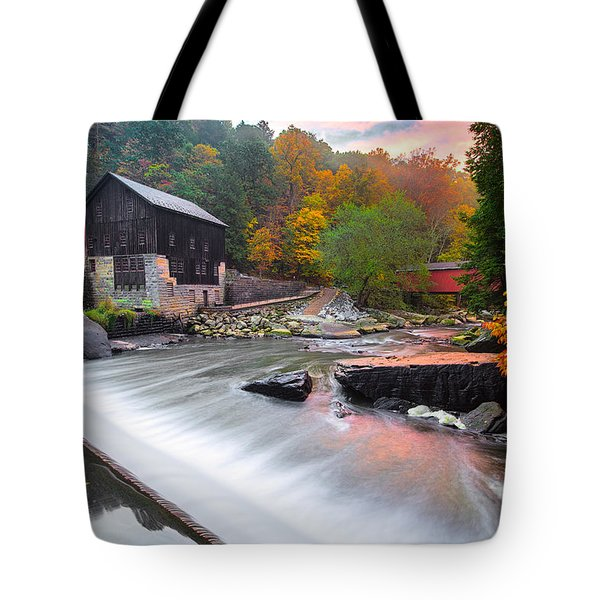 Mcconnell's Mill Fall  Tote Bag