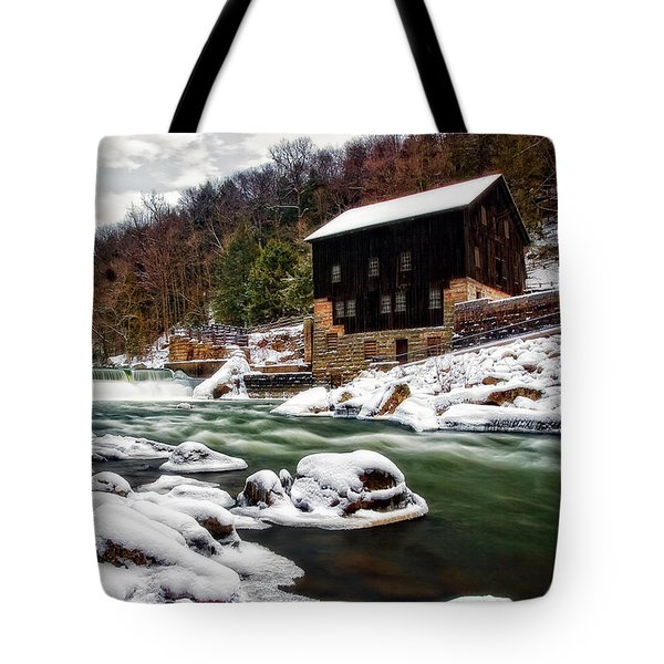 Mcconnell's Mill Tote Bag by Marcia Colelli