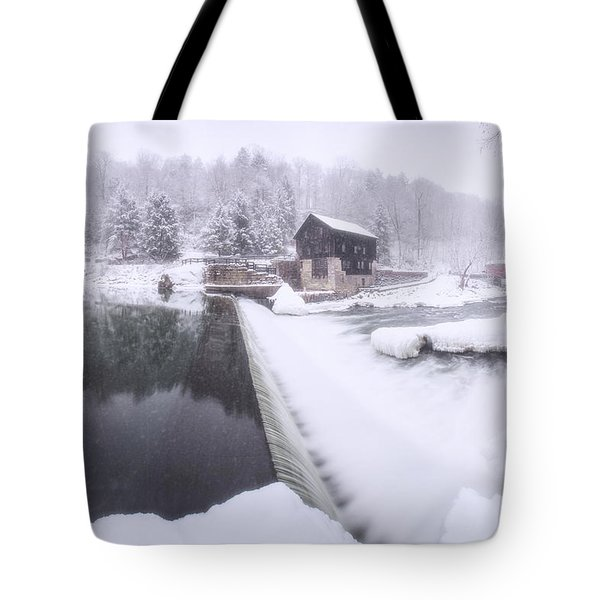 Mcconnell's Mill Winter  Tote Bag