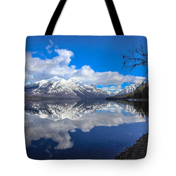 Mcdonald Reflecting Tote Bag