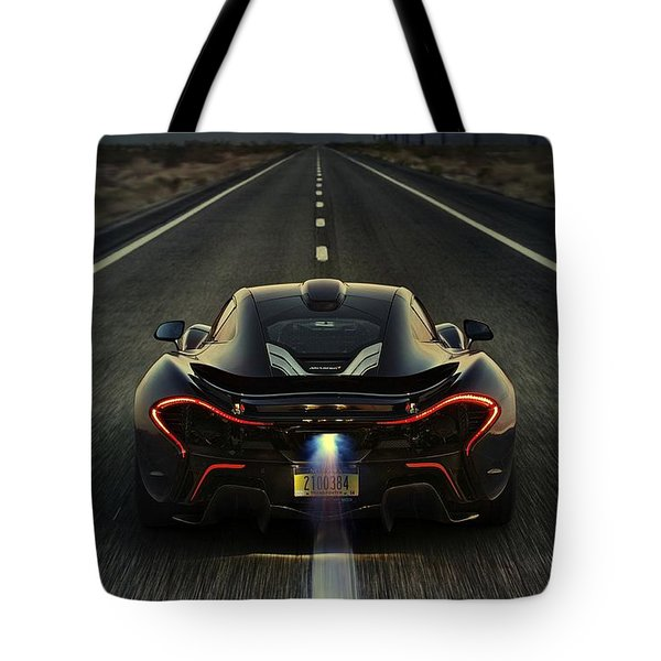 Mclaren P1 2014 Tote Bag by Movie Poster Prints