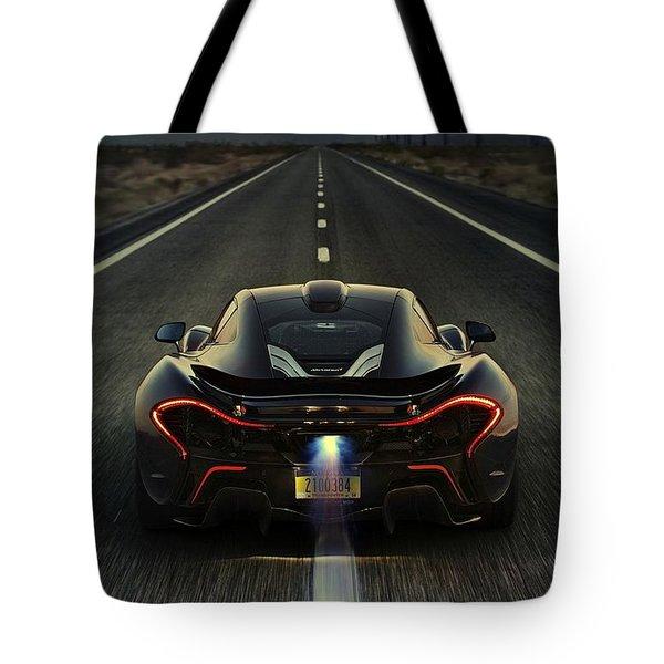 Mclaren P1 2014 Tote Bag