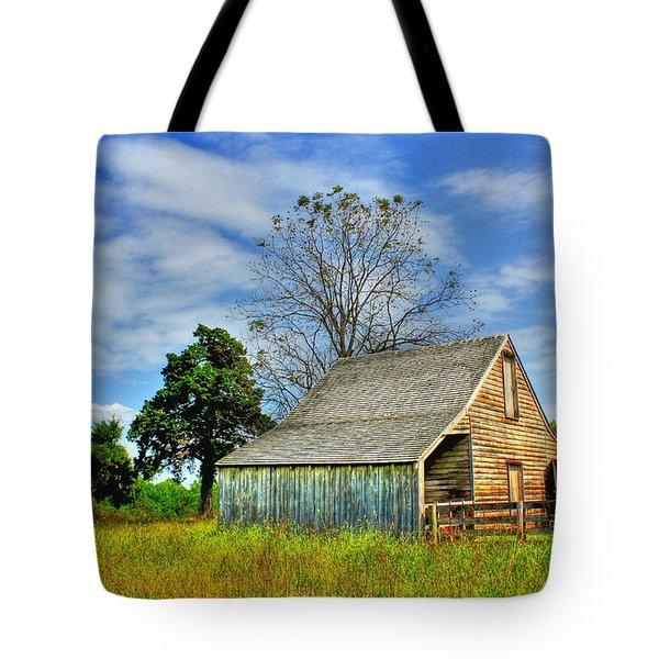 Mclean House Barn 1 Tote Bag by Dan Stone