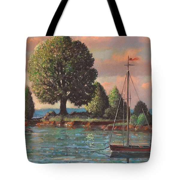 Mcmeekins Point Tote Bag by Blue Sky