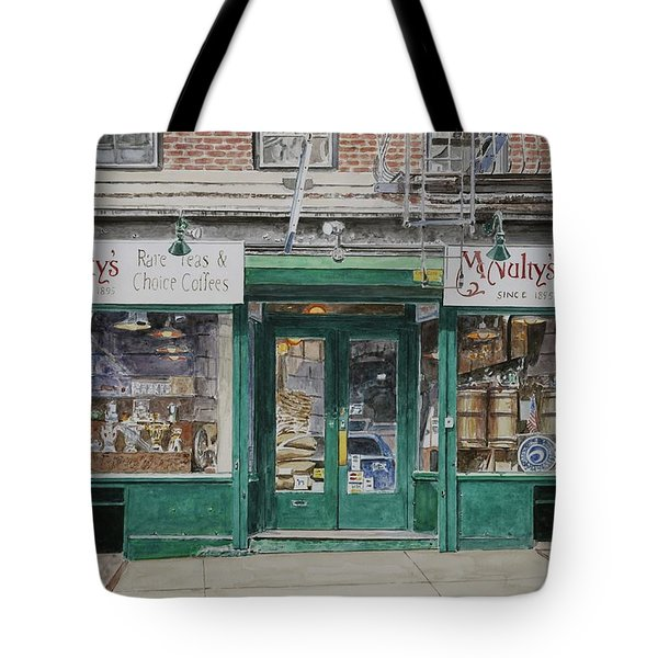 Mcnultys Coffee Tote Bag by Anthony Butera