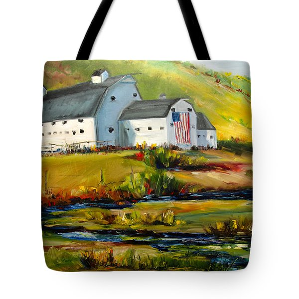 Mcpolin Park City Utah Barn Tote Bag
