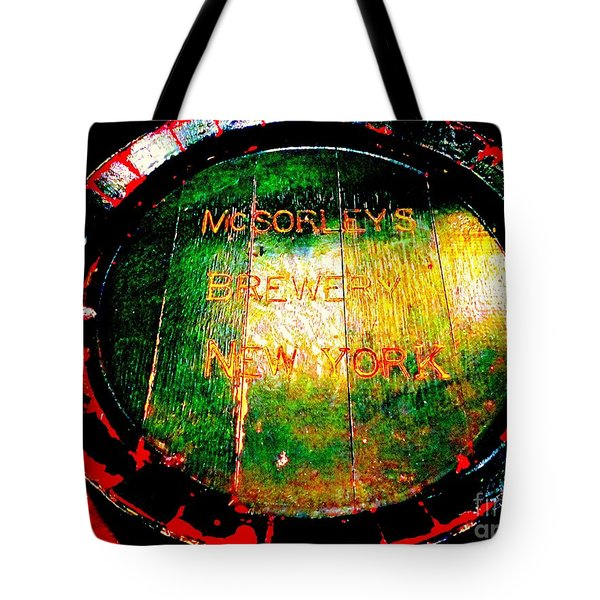 Mcsorleys Brewery Tote Bag by Ed Weidman