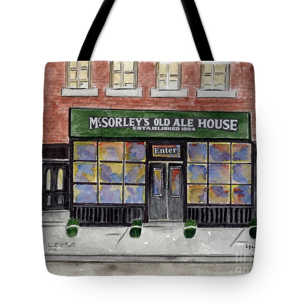 Mcsorley's Old Ale House Tote Bag