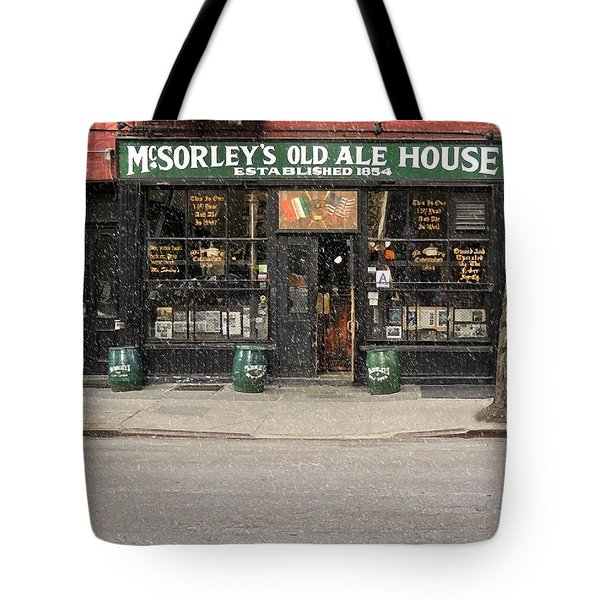 Mcsorley's Old Ale House Tote Bag by Doc Braham