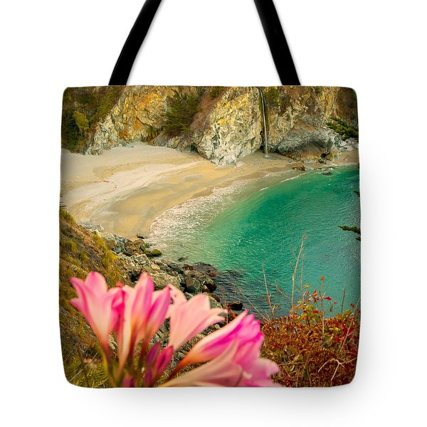 Mcway Falls-3am Adventure Tote Bag by David Millenheft