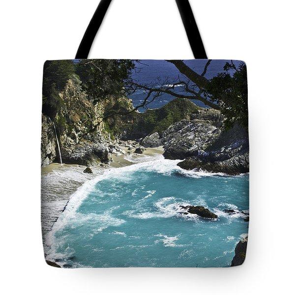 Mcway Falls - Big Sur Tote Bag
