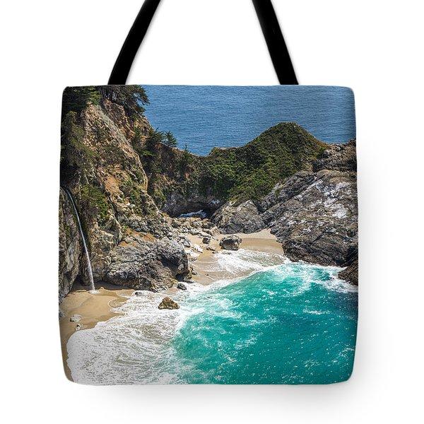 Mcway Falls Big Sur Tote Bag
