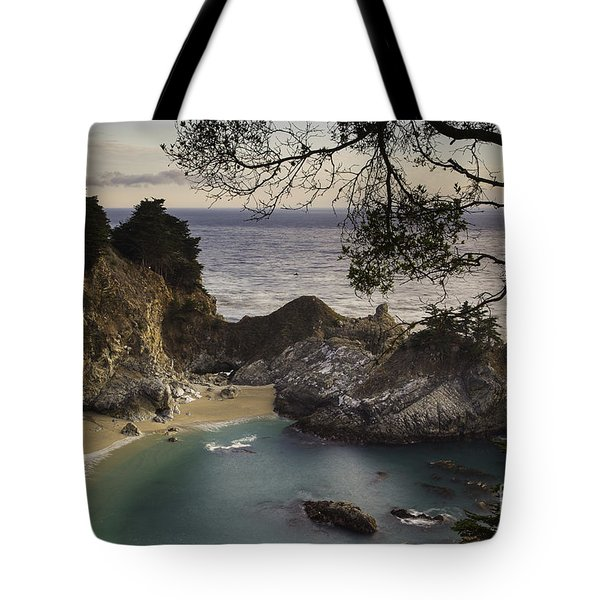 Mcway Falls Tote Bag by Michele Steffey
