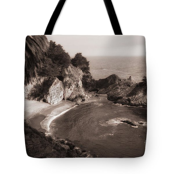 Tote Bag featuring the photograph Mcway Falls by Vincent Bonafede