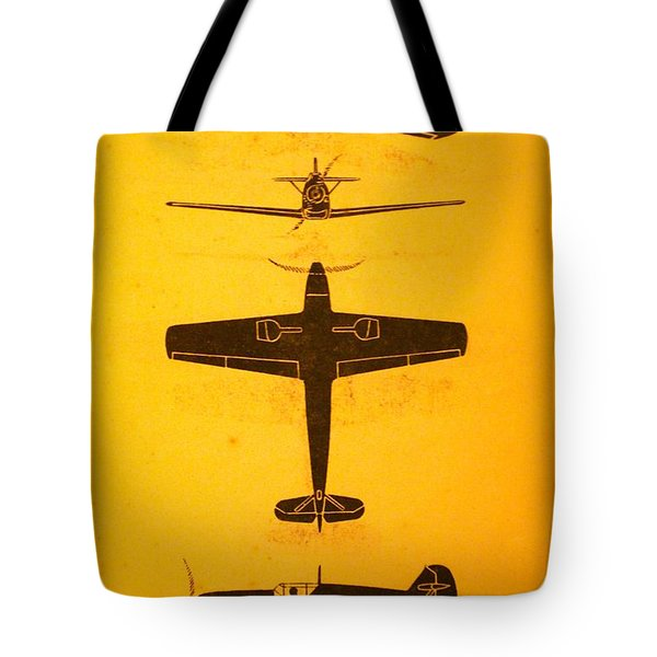Me 109 Recognition Tote Bag