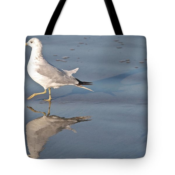 Me Myself And I Tote Bag by Kathleen Scanlan