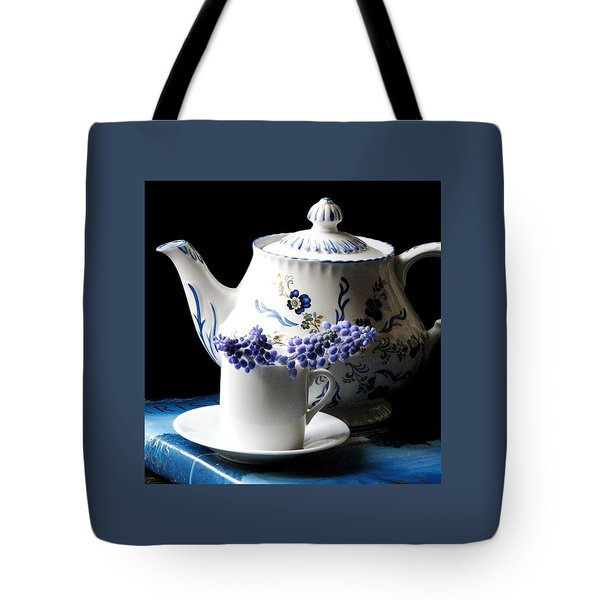 Me Time Tote Bag by Angela Davies