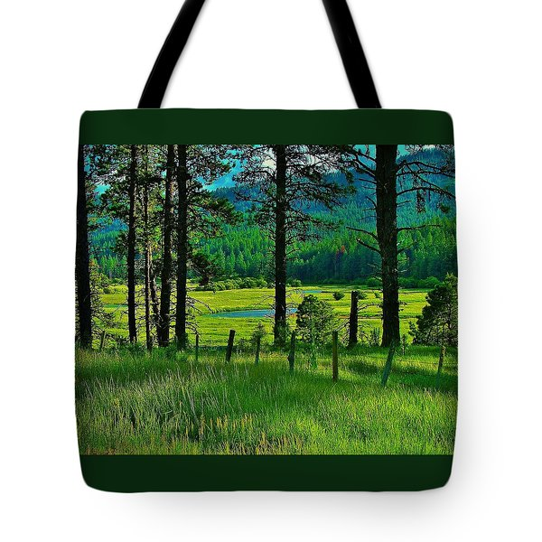 Meadow 8 Tote Bag