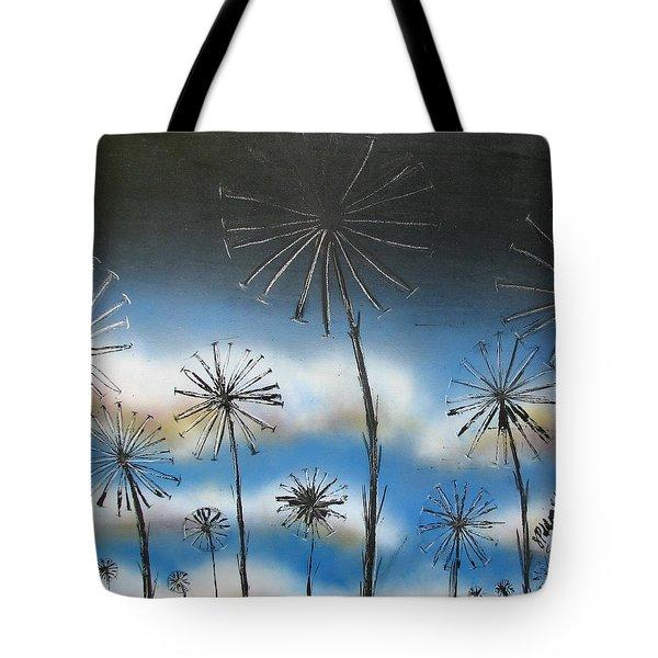 Meadow At Dawn Tote Bag