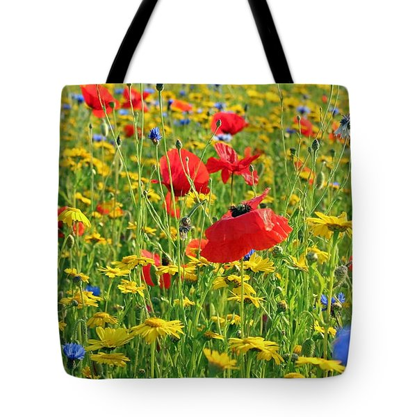 Meadow Flora Tote Bag