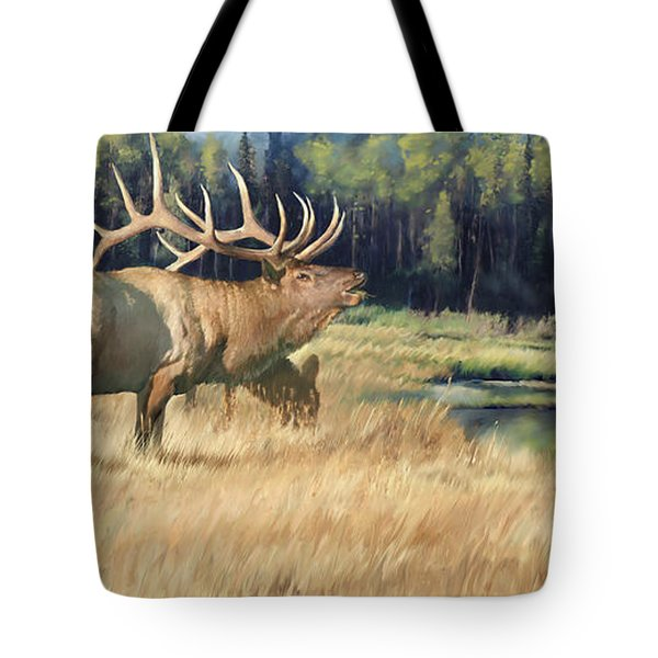 Meadow Music Tote Bag by Rob Corsetti