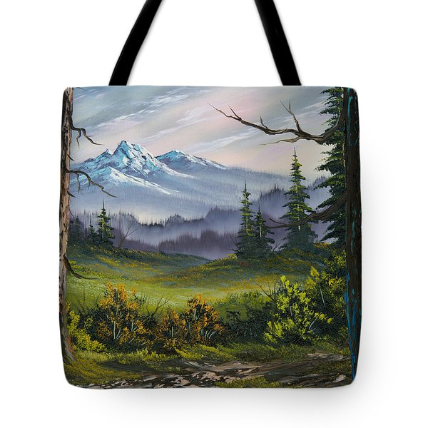 Meadow View Tote Bag by C Steele