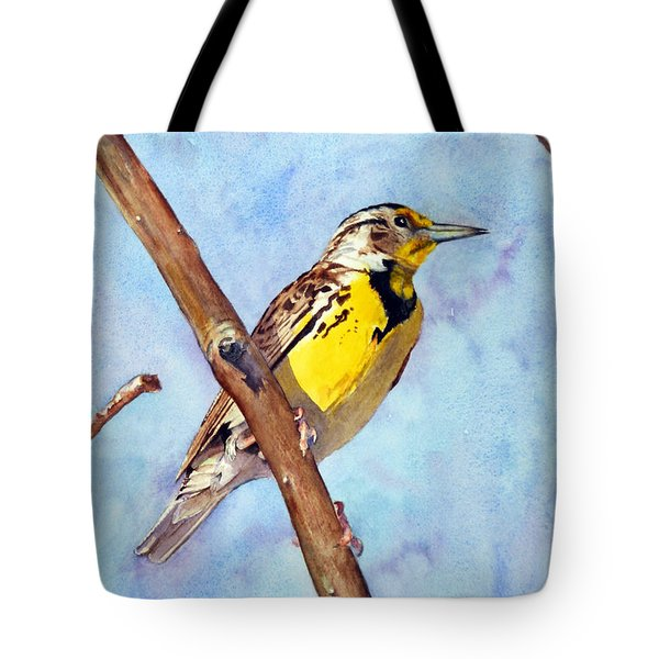Meadowlark Sunrise Tote Bag