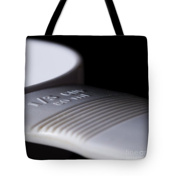 Measuring Cup Tote Bag by Art Whitton