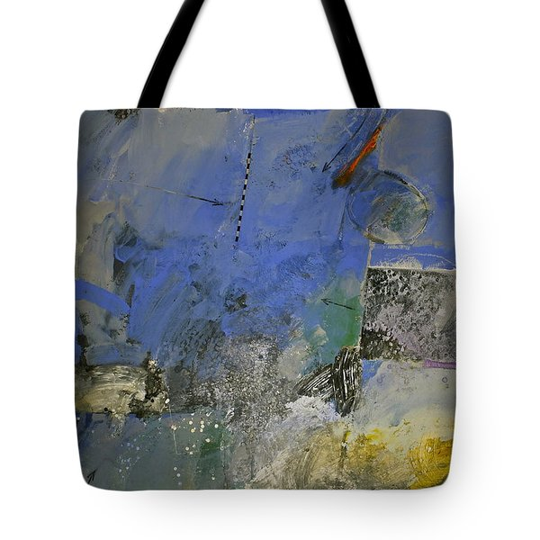 Meatier Illogical Cold Front Tote Bag by Cliff Spohn