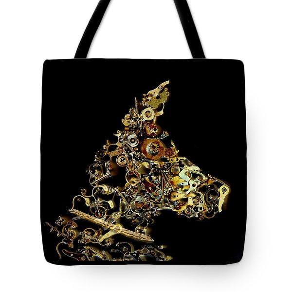 Mechanical - Dog Tote Bag