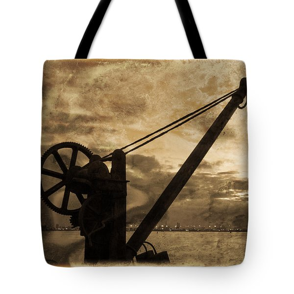 Mechanics Of The Old Days Tote Bag by Semmick Photo