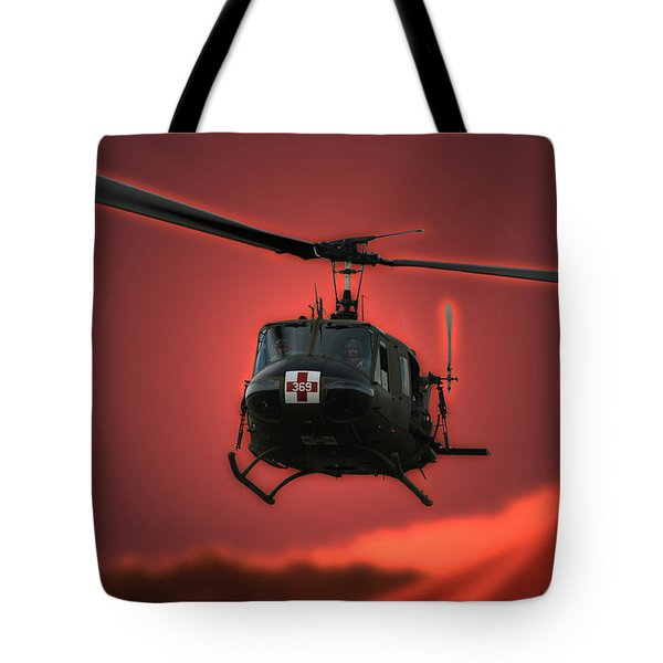 Medevac The Sound Of Hope Tote Bag