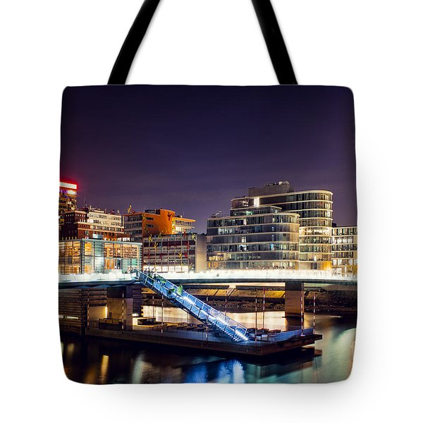 Media Harbor Dusseldorf Tote Bag