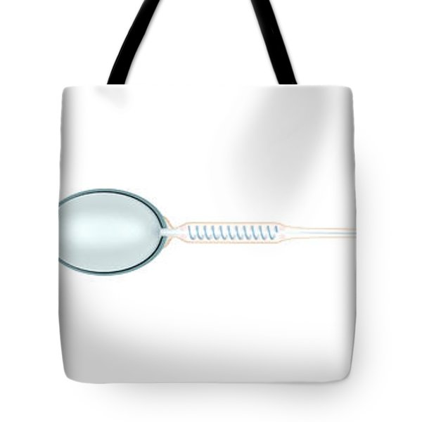 Medical Illustration Of Sperm And Ovum Tote Bag by Stocktrek Images