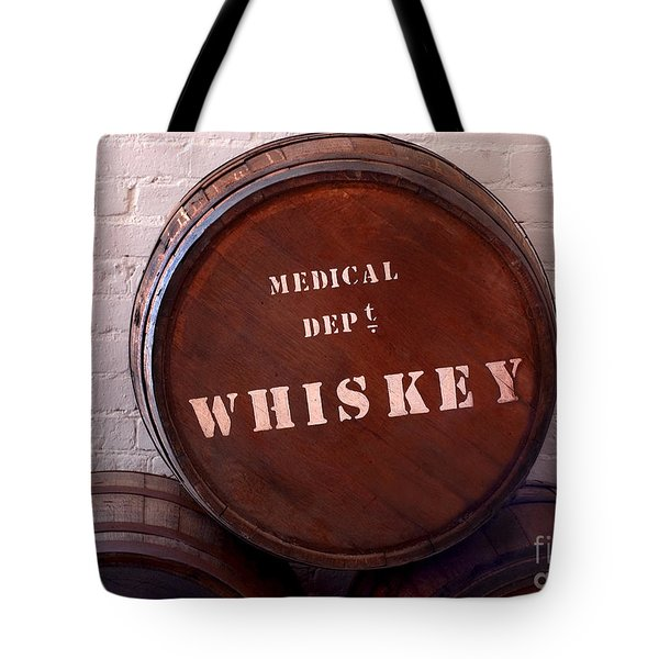 Medical Wiskey Barrel Tote Bag