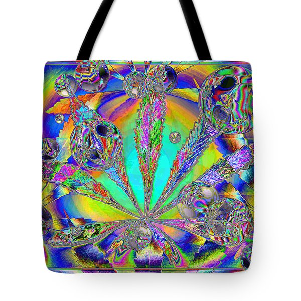 Medicinal One Tote Bag by Joyce Dickens