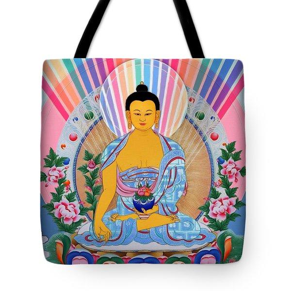 Medicine Buddha 1 Tote Bag