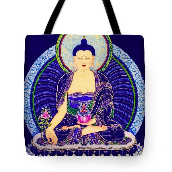 Medicine Buddha 6 Tote Bag