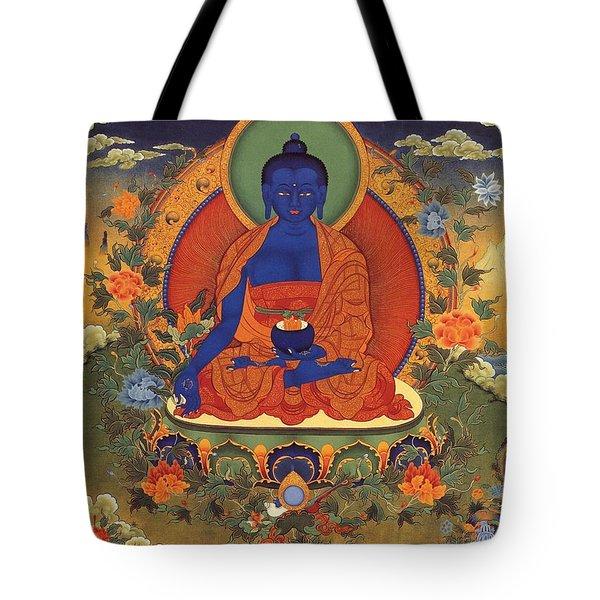 Medicine Buddha 8 Tote Bag
