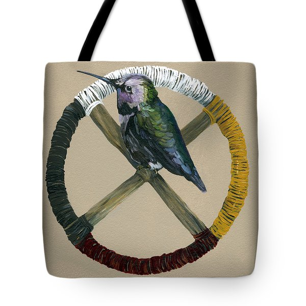 Medicine Wheel Tote Bag by J W Baker