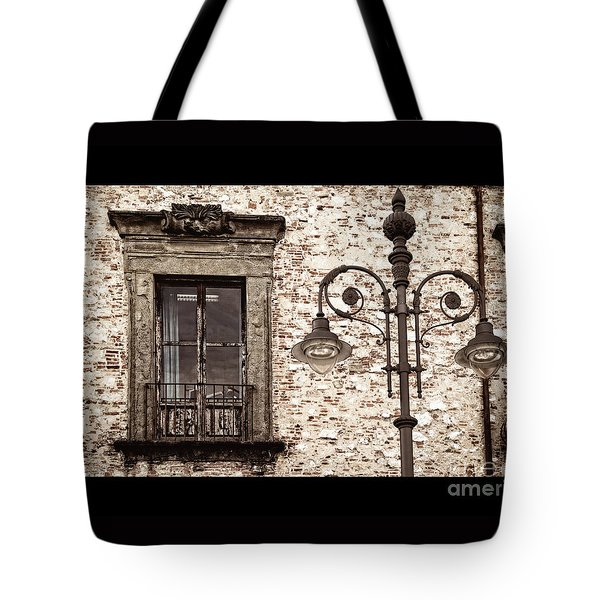 Medieval And Modern Tote Bag