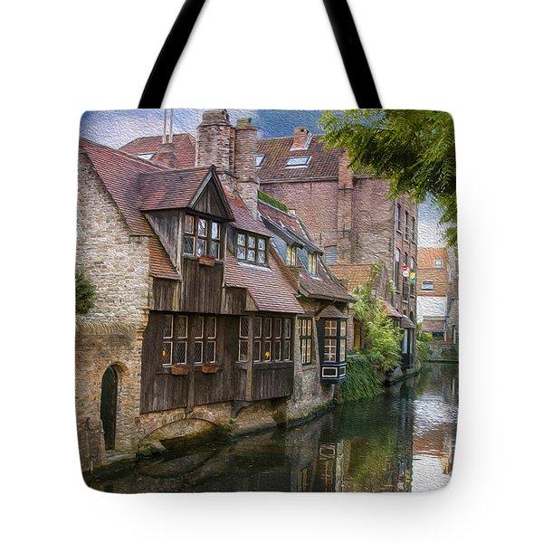Medieval Bruges Tote Bag