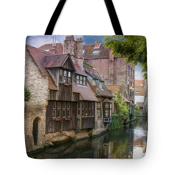 Medieval Bruges Tote Bag by Juli Scalzi