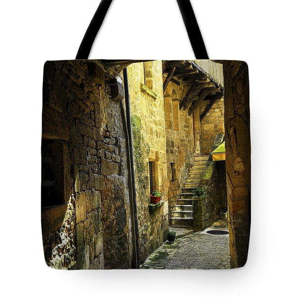 Medieval Courtyard Tote Bag by Elena Elisseeva