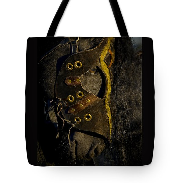 Medieval Stallion Tote Bag by Wes and Dotty Weber
